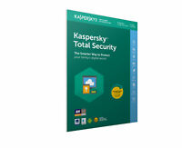 Kaspersky Total Internet Security 2018 3 Devices 1 Year Licence