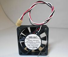 NMB 2406KL-05W-B59 FANUC special cooling fan 24V 0.13A 60*60*15 3pin