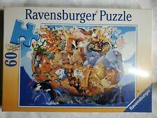 "New Sealed Rare Ravensburger 60 Piece Puzzle NOAH'S ARK 14 1/4"" × 10 5/16"""