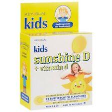 Key Sun Sunshine D + Vitamin D Lozenges 12 Pack - Butterscotch Childrens Growth
