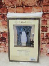 Elrene Versailles 52 X108 Polyester Pleated Room Darkeniing Curtain Panel Ivory