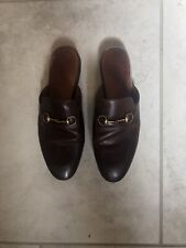 Gucci Princetown Loafer Mules Brown 38.5 Brown GUC W/Dustbag