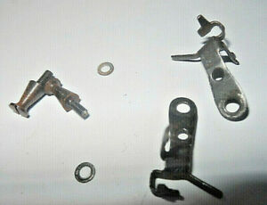 HORNBY DUBLO WAGON COUPLINGS WITH SCREWS AND WASHERS