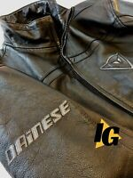 Men's  Dainese Leather Motorcycle Jacket Sz56EU