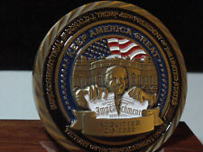 Official President Donald J Trump Impeachment Acquitted Challenge coin #290