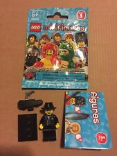 LEGO 8805 Minifigure Series 5 Gangster Mafia Man New 2011 w/ Wrapper USA!