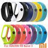 For Xiaomi Mi Band 3 Adjustable Bangle Soft Silicone Strap Wristband Bracelet AU