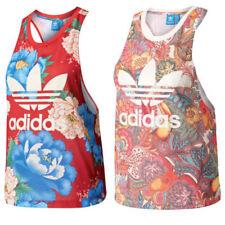 Camisas y tops de mujer adidas de poliéster