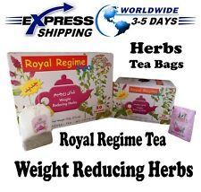 Royal Regime Tea Bags Weight Loss Reducing Herbal Slimming Herbs Detox Diet
