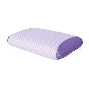 HOMESMART Memory Foam Pillow Infused with Real Lavender Oil Spandex Polyester