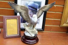 LLADRO FIGURINE RARE #5602 EAGLE FREEDOM SIGNED PRODUCTION NO. 553 EL AGUILA
