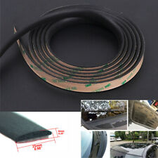 5M Black Rubber Seal Strips Weatherstrip For SUV Car Windshield Sunroof Window