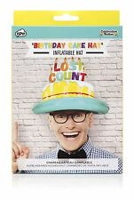 Lost Count Birthday Cake Inflatable Hat Happy Birthday Party NPW Celebration