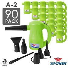 XPOWER A2 Airrow Pro Computer Air Duster Keyboard Cleaner Dust Off Green 90 Pack