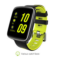 Smart Watch GV68 waterproof IP68 bluetooth compatible Android IOS green