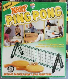 Vintage 1982 Nerf Ping Pong - Used -