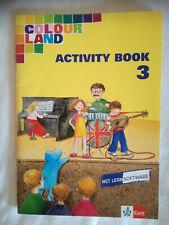 Colour Land Activity Book 3 mit Lernsoftware*Klett* 2004*neuwertig