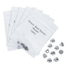 5 Bags Dental Ortho Lingual Buttons Direct Bond Eyelets Round Crimpable Hook IT