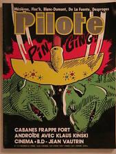 PILOTE MENSUEL N°114 NOVEMBRE 1983 (MEZIERES,FLOC H,BLANC DUMONT,DE LA FUENTE))