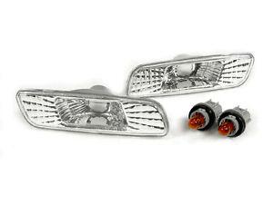DEPO Front Clear Bumper Side Markers FIT 98 99 00-05 Lexus GS300 / GS400 / GS430
