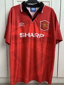 Man Utd Home Retro Shirt 94-96 Season KEANE #16