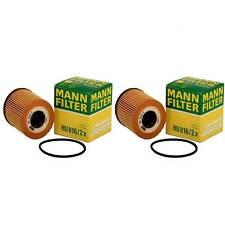 2 pcs MANN HU816/2X Oil Filter For Mini Cooper R53 OE# 11427512446 - 11427509208
