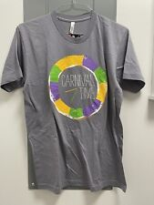 New listing Storyville American Apparel Mardi Gras Carnival Time Men's T-Shirt Large L Gray