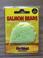Northland Fishing Tackle - Salmon Beads - Size 4mm - Glow - 100/Bag
