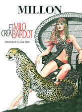 MANARA Volume Milo Crèa Bardot - Catalogo dell'asta Millon 2016
