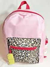"""ccc7bfdb042 Wonder Nation Pink Leopard Cheetah Print 14"""" Backpack With Free Surprise  Inside"""