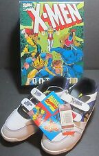 ff6466a260 Marvel Comics X-Men Footwear 1993 Shoes Wolverine Mint in Box w Tags Jim