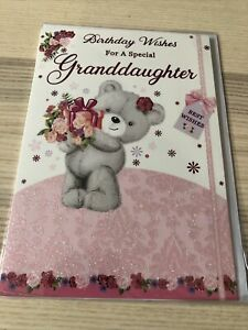 Birthday Wishes For A Special Granddaughter Birthday Card