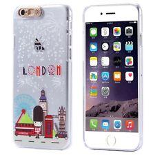 Coque transparente rigide effet lumineux (Flash LED) pour iPhone 6 / 6S   London