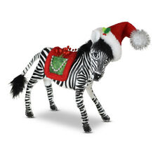 Annalee Dolls 2021 Christmas 7in Evergreen Zebra Plush New with Tag