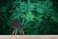 New Listing3D Green Plant Leaf Wallpaper Wall Murals Removable Wallpaper 263