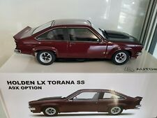 Holden LX TORANA SS A9x Madeira Red Diecast Model Car 1 18