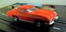 Aurora Model Motoring T-Jet Ho Nice #1356 Chevrolet 1963 Corvette Red W/Chassis