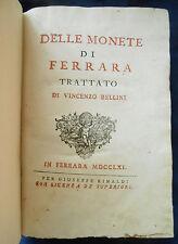 [Numismatica] 1761 Monete di Ferrara Vincenzo Bellini moneta zecca Este Estensi