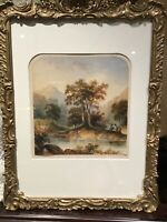 19th Century Watercolour...Highland Landscape...Attributed to Duchess of Argyll