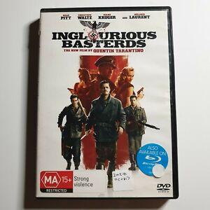 Inglourious Basterds | DVD Movie | Quentin Tarantino, Brad Pitt| War/Action