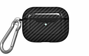 Protective Carbon Fibre Apple Airpod PRO Case TPU Cover Anti Lost Skin Airpods