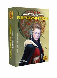 Coup Reformation Expansion Card Game (Resistance Universe) Indie IBC COUP2