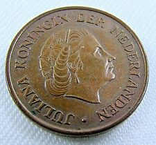 Netherlands 1974 Coin  5 Cent Queen Juliana Koningin Der Bronze