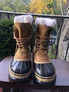 Sorel Waterproof Caribou Winter Boots Men's Size 7 NEW!