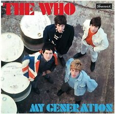 THE WHO MY GENERATION VINYL LP (MONO) (Released March 23rd 2015)