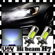 LED Light Bulbs 2 x H7 COB 6000K Power CREE Hyper Cool White High Beam