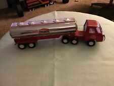 "Vintage 1970s Buddy L Texaco Truck Tanker 10"" Pressed Steel Made Japan"