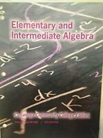 Elementary and Intermediate Algebra - Office Product By Tussy Gustafson - GOOD