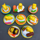 8pcs/set Sanrio Gudetama Collectibles Lazy Egg Minifigures Toy Kid Birthday Gift