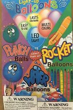 "Rocket Punch Balloon 1 inch toys 1"" bulk vending machine Capsules 250 Pieces"